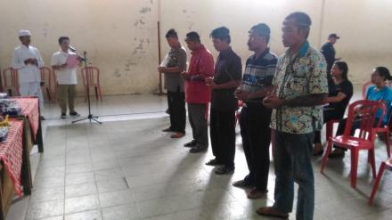 Pelantikan KPPS Desa Tinggarsari Dalam Pemilihan Gubenur dan Wakil Gubenur Bali Tahun  2018