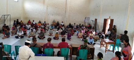 Pemdes Tinggarsari melaksanakan pencairan BLT-DD ke warga Desa Tinggarsari